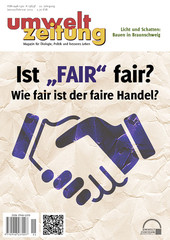 Umweltzeitung Deckblatt Ausgabe 01/2015